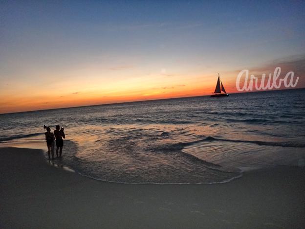 aruba-sunset