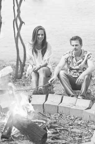 Campfire Love Shoot
