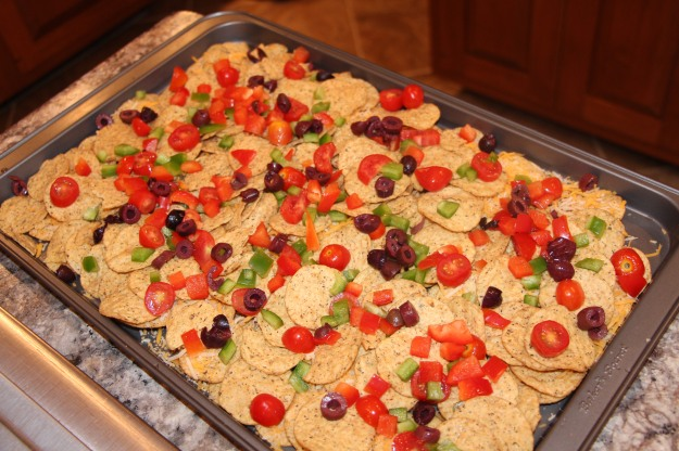 second layer of nachos