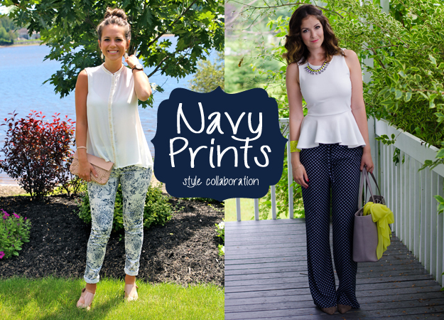 Navy Prints Style Collaboration