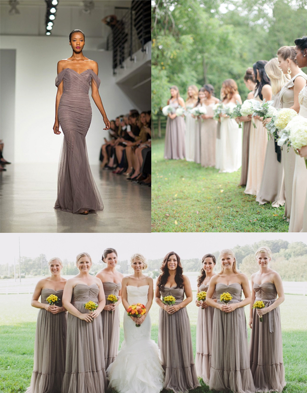 November wedding inspiration the new mrs hamilton for Bridesmaid dresses for november weddings