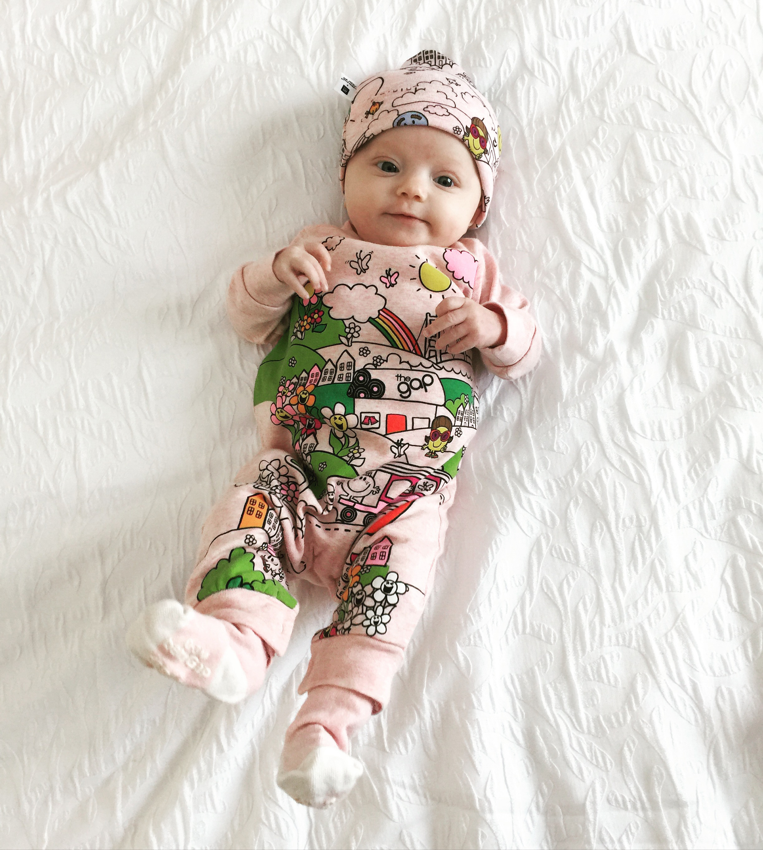 Dressing Zuri Bloom